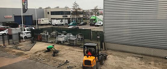 Werkzaamheden (parkeer)terrein